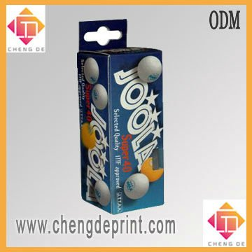 hanging table tennis ball packing box design