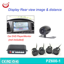 12V reversing camera auto electromagnetic parking sensor
