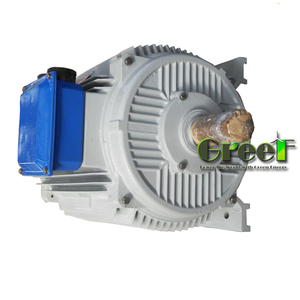 2017 NEW Generators 1kw 60rpm renewable three phase permanent magnet AC generator, low rpm for wind use high efficiently permane