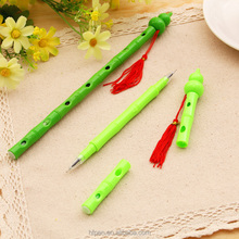 HF0058 China traditional toy musical istruments double-headed gel-ink pen
