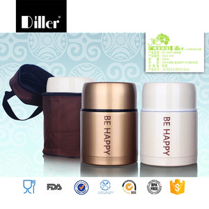 Wholesales 600ml hot food container personalised thermos flask