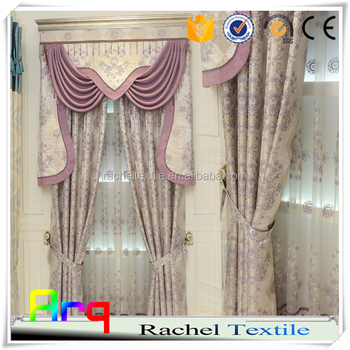 Latest Curtain Fabric Princess Fashion Style Design Jacquard Curtain-  Mediterranean Bedroom Using - Buy Latest Curtain Fashion  Designs,Mediterranean ...