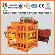 New Product Lasted Germany Technology QTJ4-28 baking free automatic hydraulic fly ash brick making machine for Special Price