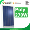 High quality solar panel 270 watt best supplier for solar system