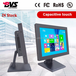 New private tooling metal case 15inch industrial all in one computer with capacity touch screen