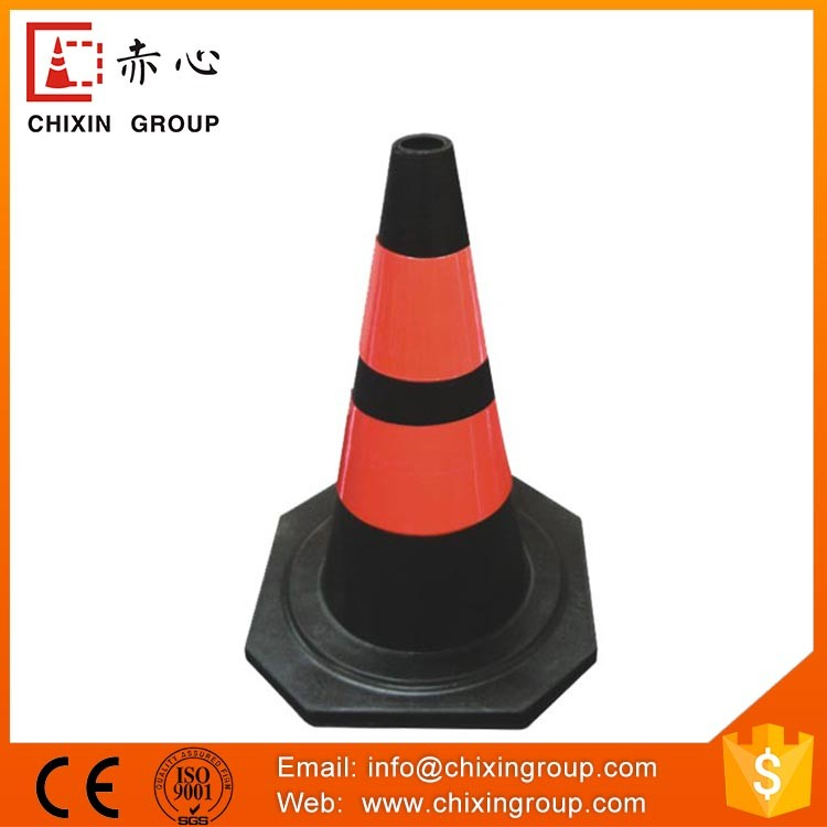Attractive Price New Type Security Reflective Traffic Rubber Cones