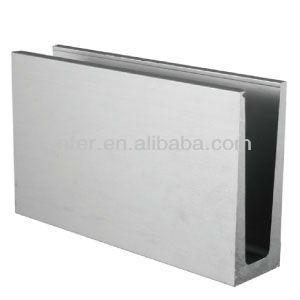 Aluminium Verre Canal Aluminium Profil Aluminium Profilé Pour Garde ...