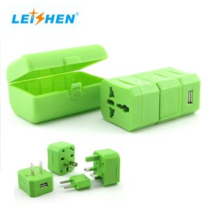 Fancy guests gift items mini travel adapter cheap wholesale wedding gift items