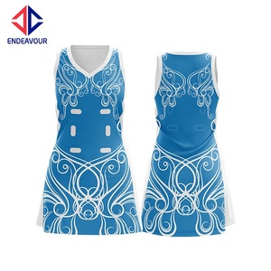Custom Made Athletic Netball Dress, Netball Jersey Sublimation