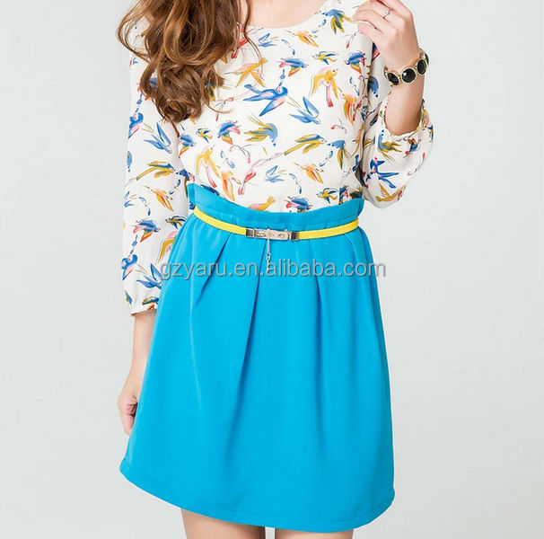 Clothing Woman Fashion Blazer Jersey Skater Skirt In Pleats