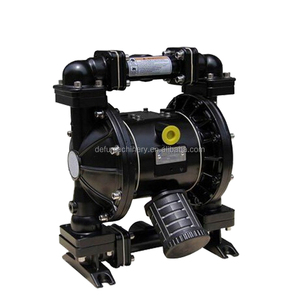 Cast Steel +Teflon Lined diaphragm pump waste oil water pumps