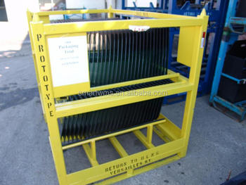 Customized Auto Windshield Transport Rack/Stackable Glass Storage Rack