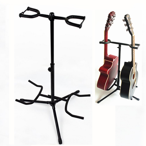 2-head GS-107 guitar stand