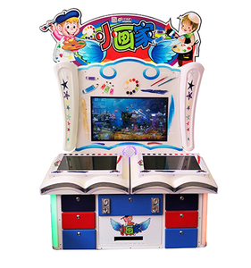 The most profitable indoor amusement electronic arcade touch game machine