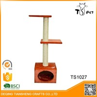 Factory Wholesale Pet Product Wooden Cat Tower