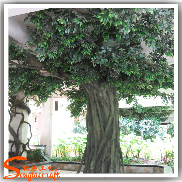 Large indoor cheap price artificial ficus tree artificial big banyan ...