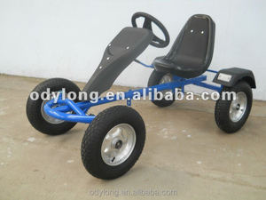 Manual Four-wheel Mini pedal Go Kart for kids up14 Years Old F160AB