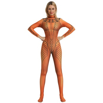 High Quality 3D Print Anck Su Namun The Mummy2 Cosplay Costume Anck-Su-Namun The Mummy Bodysuit Lycra Spandex Zentai Catsuit