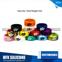 2015 Ecig Band from Silicone Material silicon vape band mods vapor band 100% Non-slip Silicone