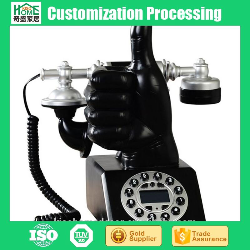 Novelty European Fashion Hand Gesture Antique Telephone with Caller Id