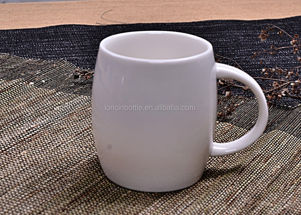14oz Starbucks Style Ceramic Coffee Mug Round Ceramic