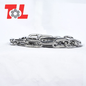 Manufacturer supply stainless steel stud link anchor chain pulley