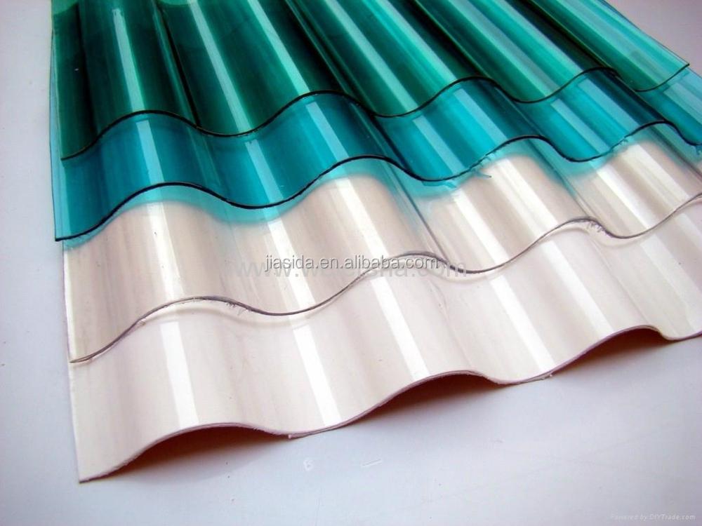 Corrugated Plastic Roof Panels/clear Uv Coating Polycarbonate Sheet/size  Cut Rofing Sheet   Buy Corrugated Plastic Roof Panels,Polycarbonate Solid  Sheet ...
