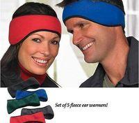 New design winter sport polar fleece ear warmer headband