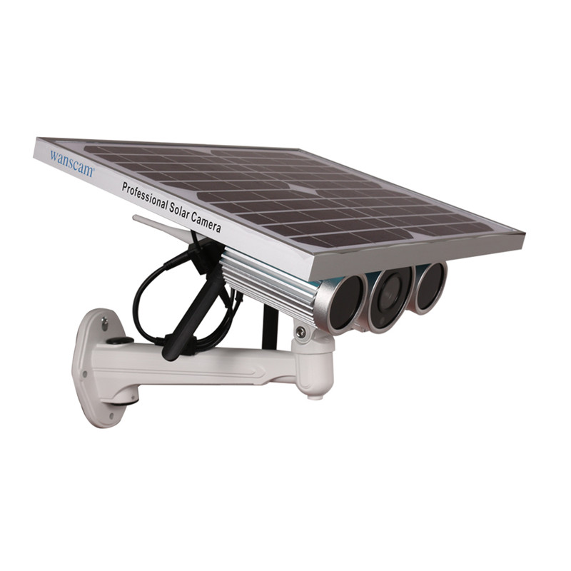 HW0029-4G solar power ip camera, solar powered wireless outdoor ip camera support 3G 4G SIM card, 100m night vision