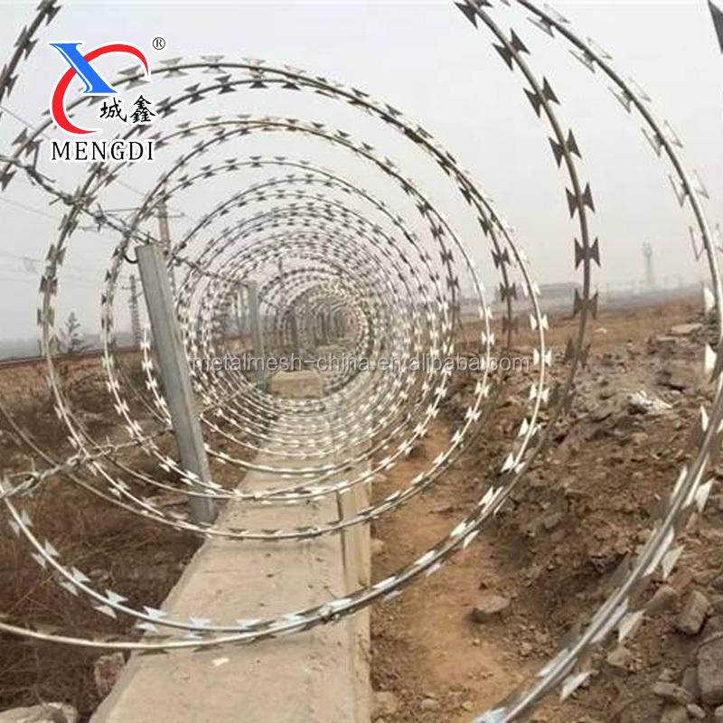 Concertina Razor Wire Anti Climb Spikes Razor Blade Wire - Buy Walking  Spikes,Barbed Wire,Concertina Razor Barbed Wire With Pallet Product on