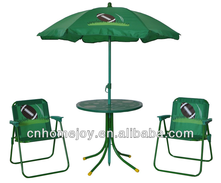 Metal Kids Table And Chair Set With Umbrella,Child Portable Folding Set  Furniture   Buy Metal Kids Table And Chair Set,Child Portable Folding ...