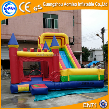 3c2fbda580a Funny City Giant Inflatable Bouncy Castle Water Slides Used for Kids and  Adults