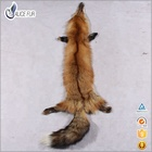 High quality natural color thick hair garment use fox fur pelt fox fur skin Red fox