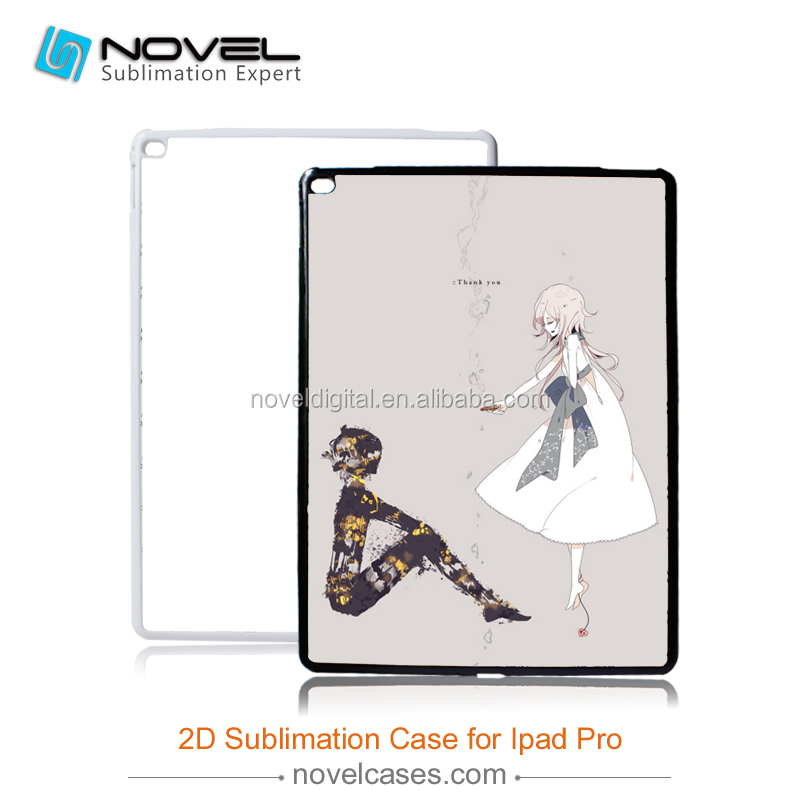 2D sublimation blank mobile housing for <strong>iPad</strong> Pro 12.9,diy phone case