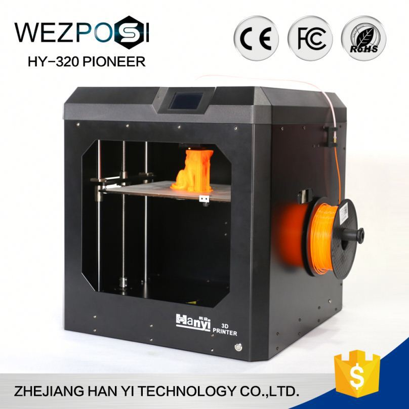 Top supplier in China factory manufacturing efficient printing 3d printer video