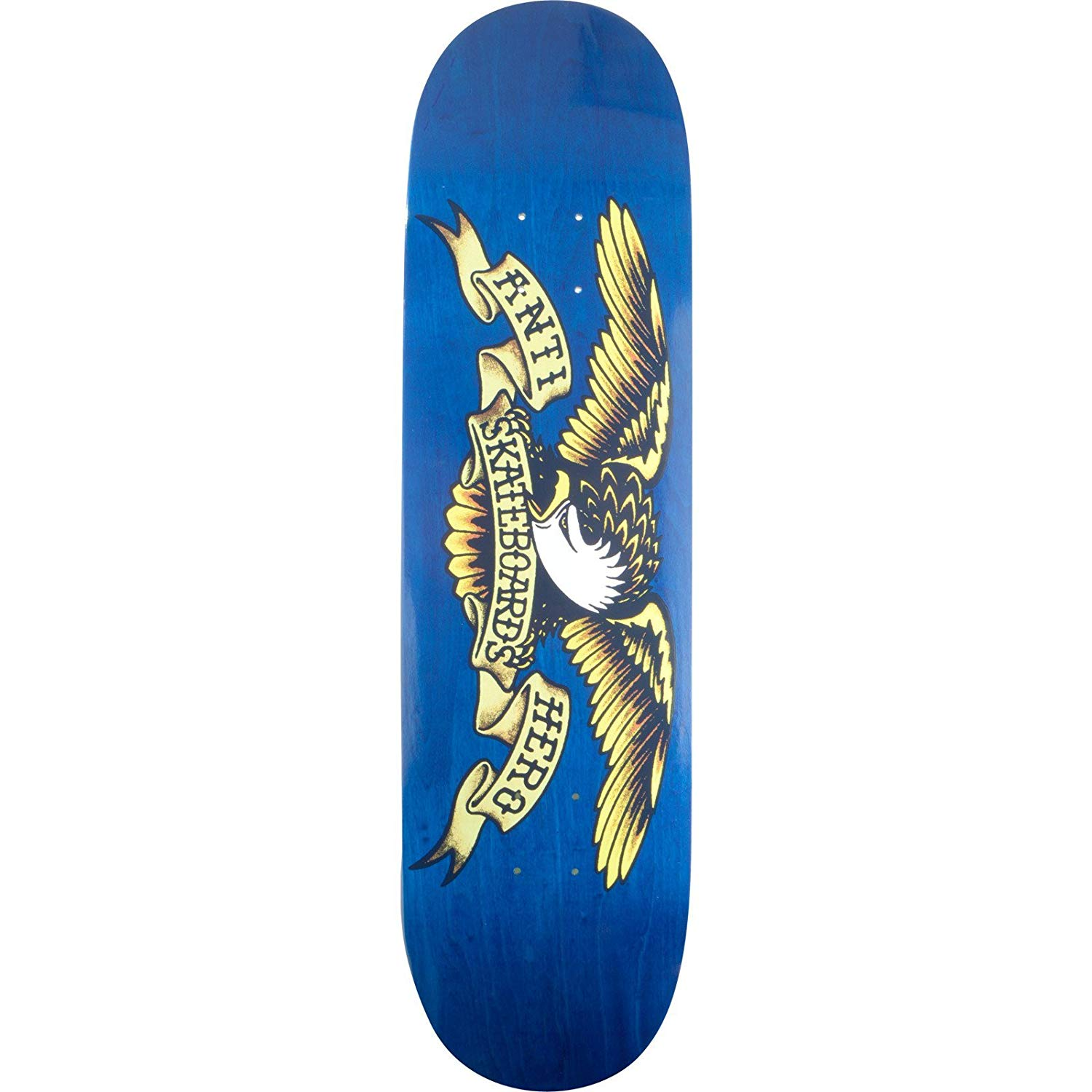 d6d2b4b2 Get Quotations · Anti Hero Skateboards Stained Eagle X-Large Blue Skateboard  Deck - 8.5