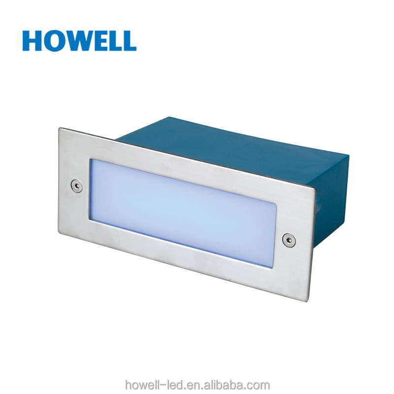 Aluminum Lamp Body Material 1.5W LED Deck Lamp Recessed Light