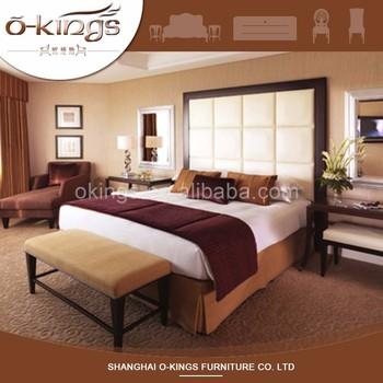 Premium Kalite Tasarimci 5 Yildiz Resort Rattan Yatak Odasi Mobilya