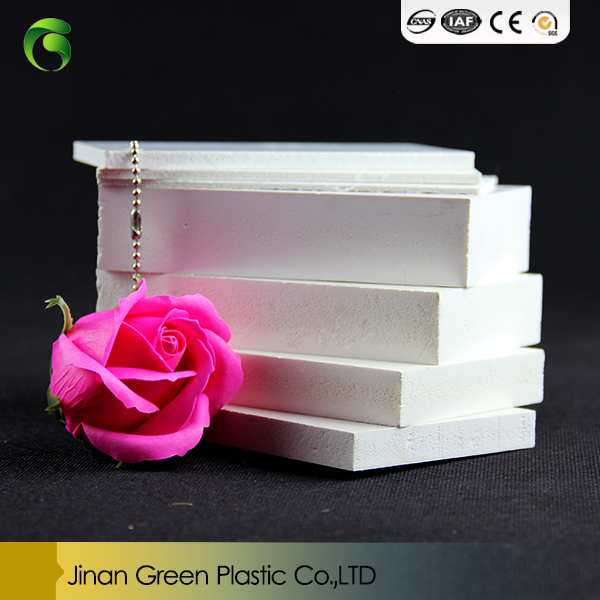 Green hot sale PVC Material 방수 WPC celuka 판/WPC 폼 board/PVC 폼 sheet 대 한 건설