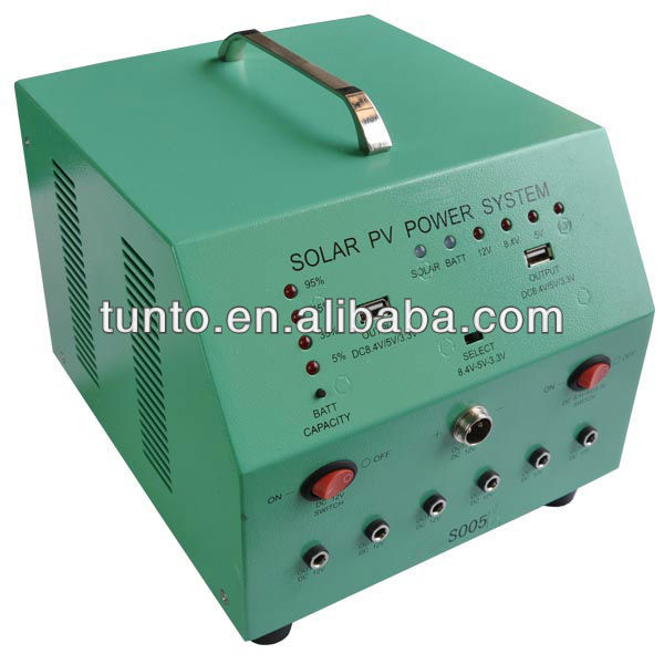 S005/S005A Power Station 70W Solar Generating System for small house use
