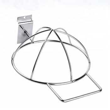 Factory Wholesale Price Metal Wire Slatwall Cap Hat Rack For Retail