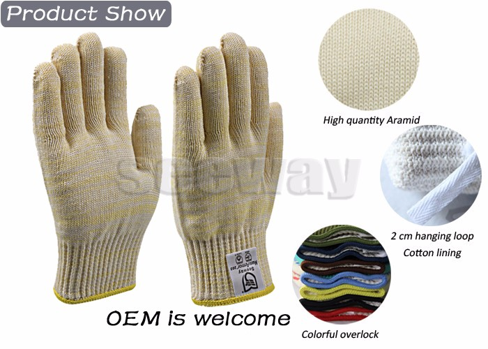 Seeway En407 Standard Industrial Working Gloves 752f Protection ...