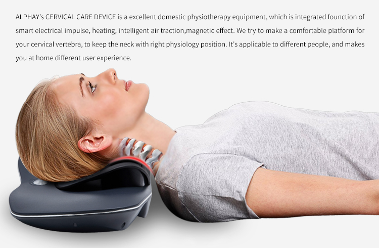 2018 new trending invention physical therapy electromagnetic product for cervical spondylosis