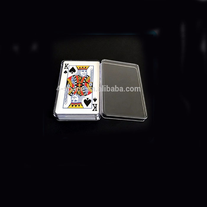 Plastic Poker Card Chips Container Box