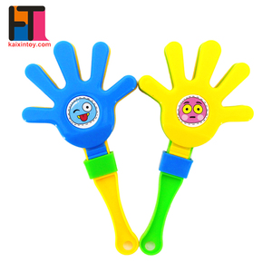 cheap kids plastic noise maker hand clap toy from china factory