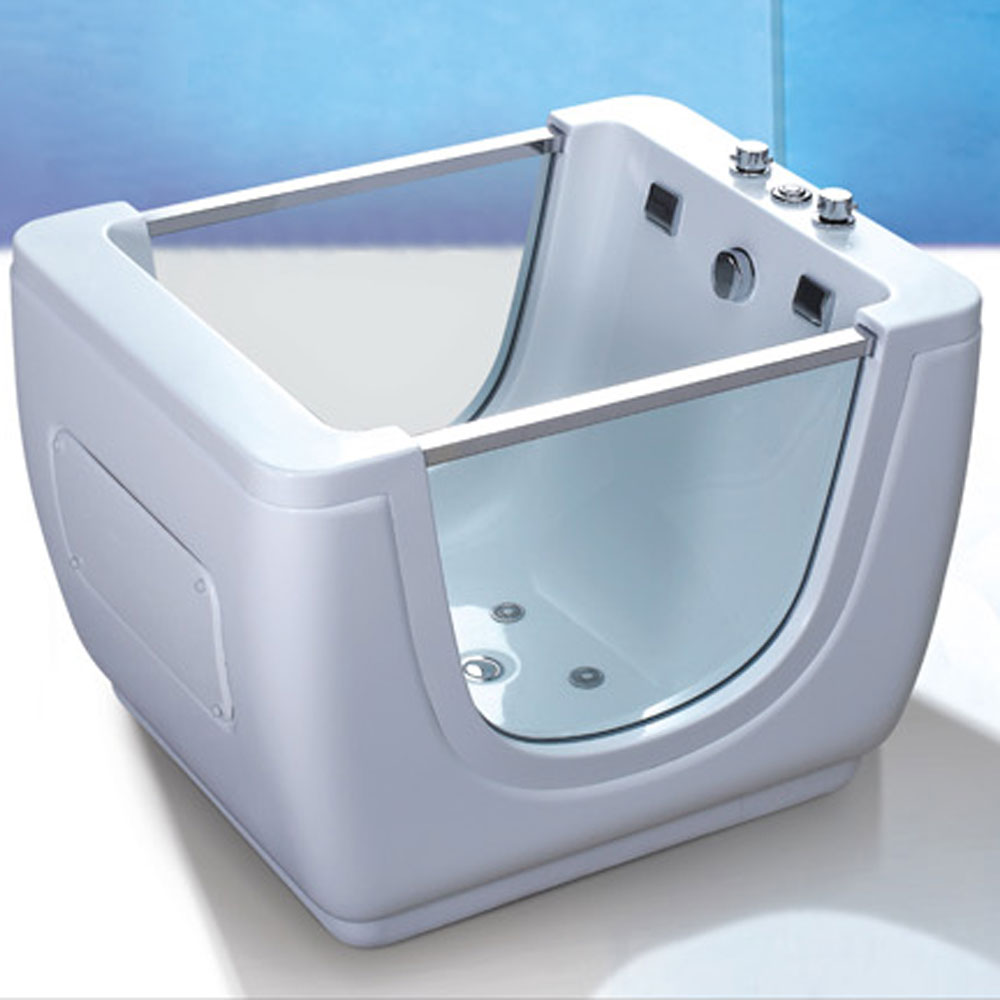 Safe Freestanding Baby Bath Tub With Glass For Sale - Buy Standing ...