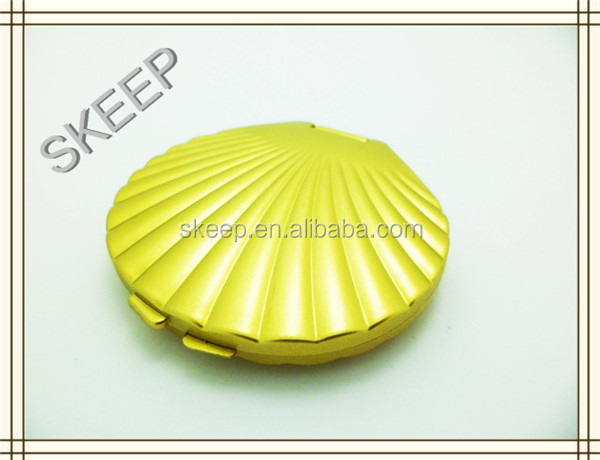 Sea Shell Shaped Plastic Pocket Mirror For Lovers Made By China ...