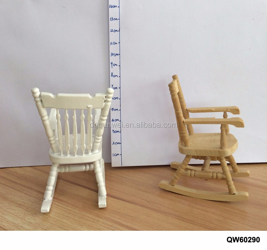1 12 Scale Miniature Dollhouse Rocking Chair Wholesale