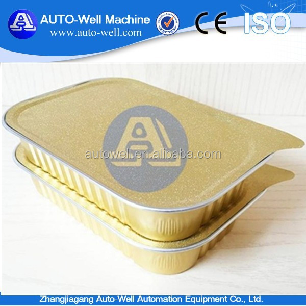 Carry Out Aluminium Foil Food Container Manufacturer