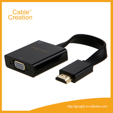 1080P HDMI to VGA Adapter Digital With Audio 3.5mm Converter Cable